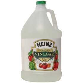 Vinegar for odor removal