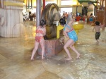 The kids loved the water contraptions.